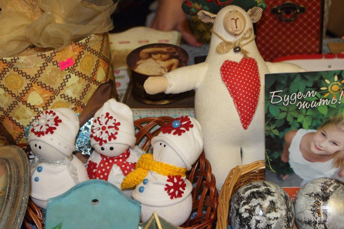Благотворительная новогодняя ярмарка «Время творить добро» 22.12.2016 г. в ТТЦ «Останкино»